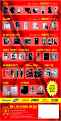 CCTV Security Alarm Systems Brochure by Eagle Eye Security S/B